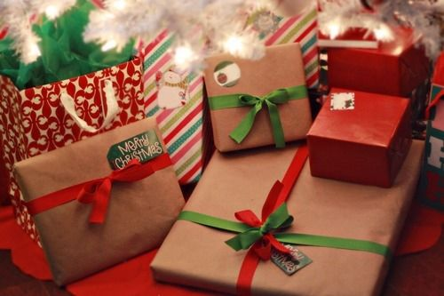 christmas packages under the tree - Christmas Packages