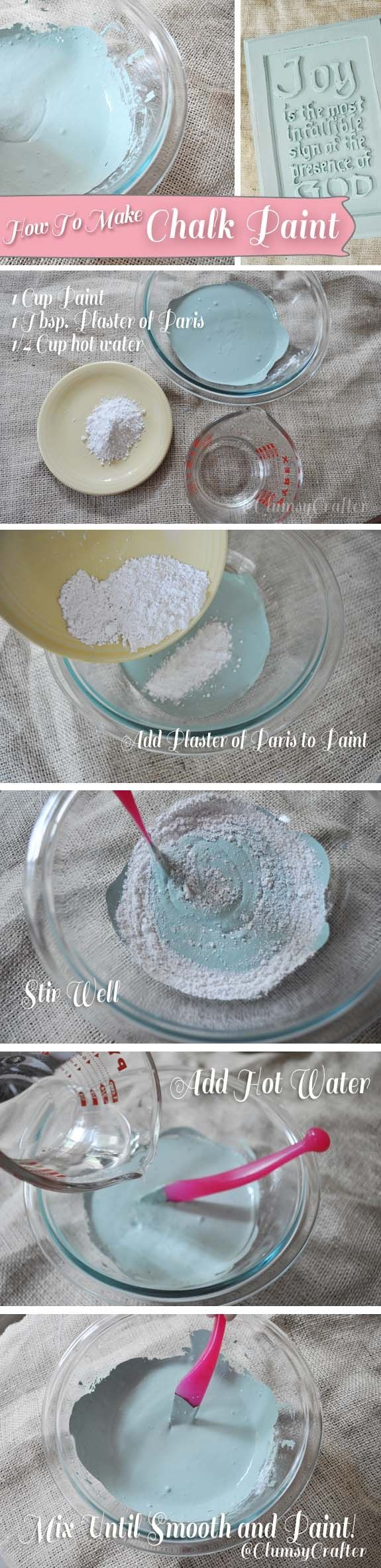 How To Make Chalk Paint Pictures Photos And Images For