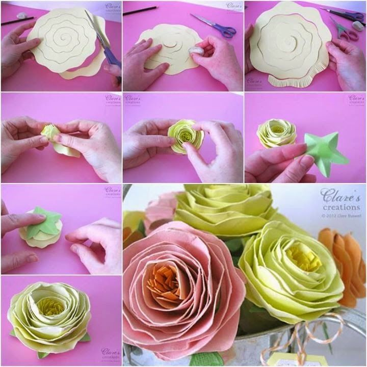 Making Rolled Paper Flowers Pictures Photos And Images For