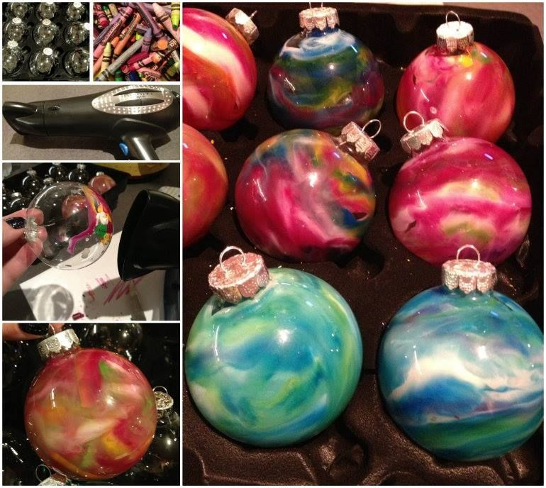 how to make melted crayon ornaments for christmas pictures photos