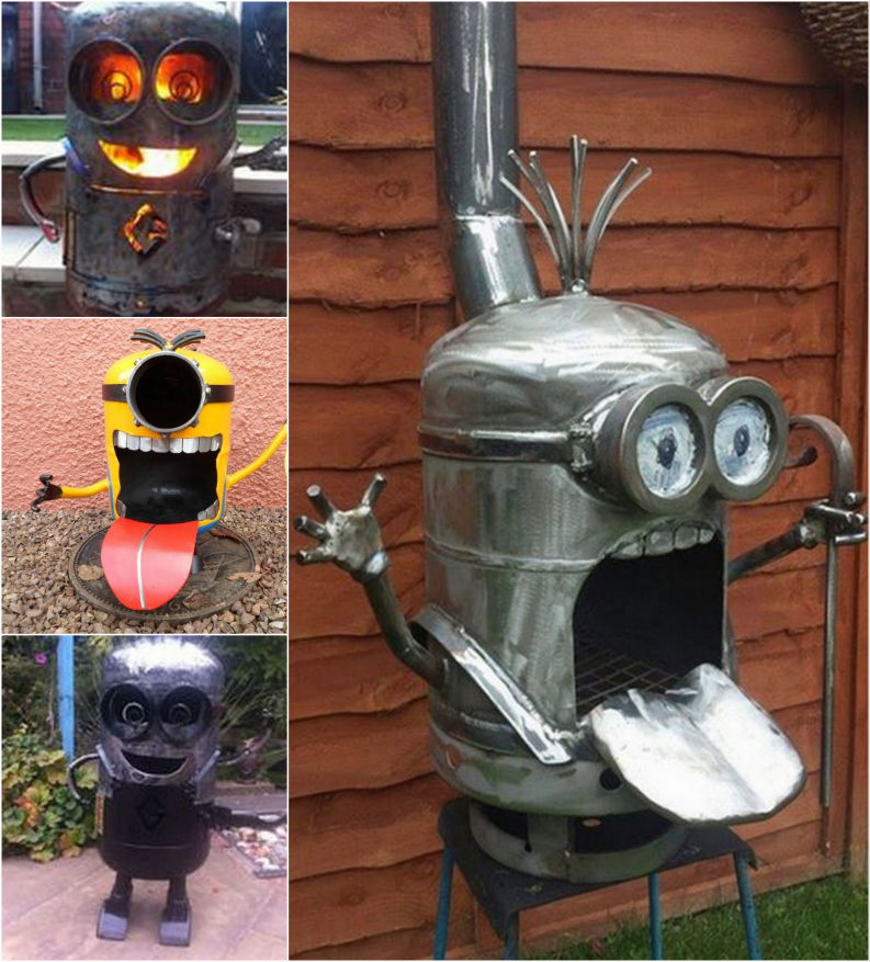 How to make a minion firepit pictures photos and images for how to make a minion firepit solutioingenieria Gallery