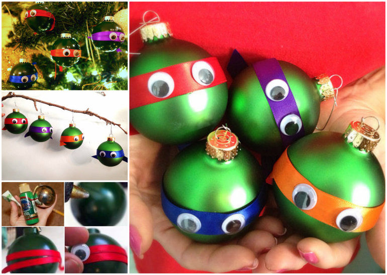 How To Make Teenage Mutant Ninja Turtle Ornaments Pictures, Photos ...
