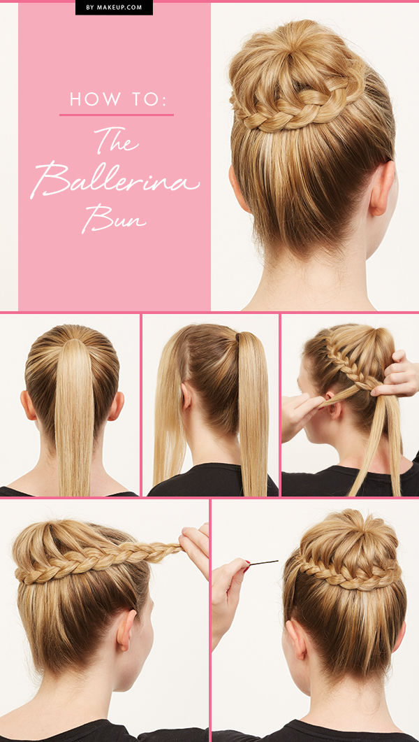 DIY Ballerina Bun Pictures Photos And Images For Facebook - Hairstyle diy tumblr