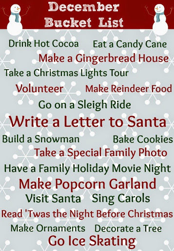picture regarding Bucket List Tumblr referred to as December Bucket Checklist Shots, Pics, and Shots for