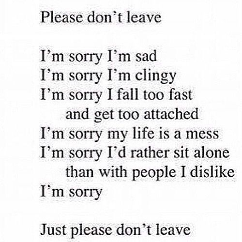 Don T Ever Leave Me Quotes: Please Don't Leave Pictures, Photos, And Images For