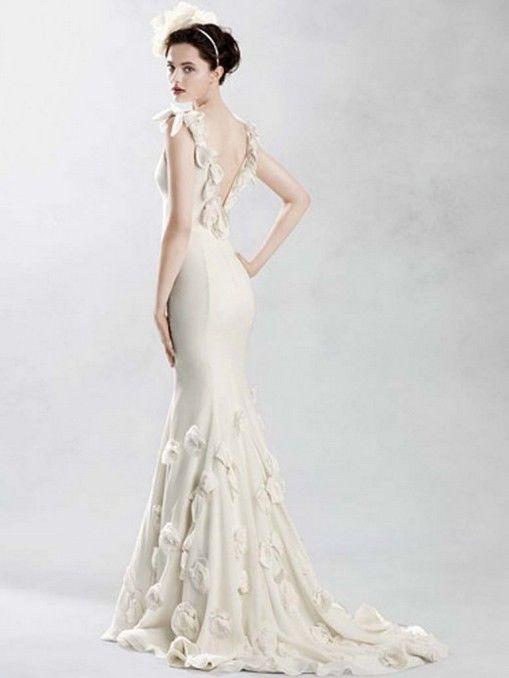 Off White Wedding Dresses Pinterest