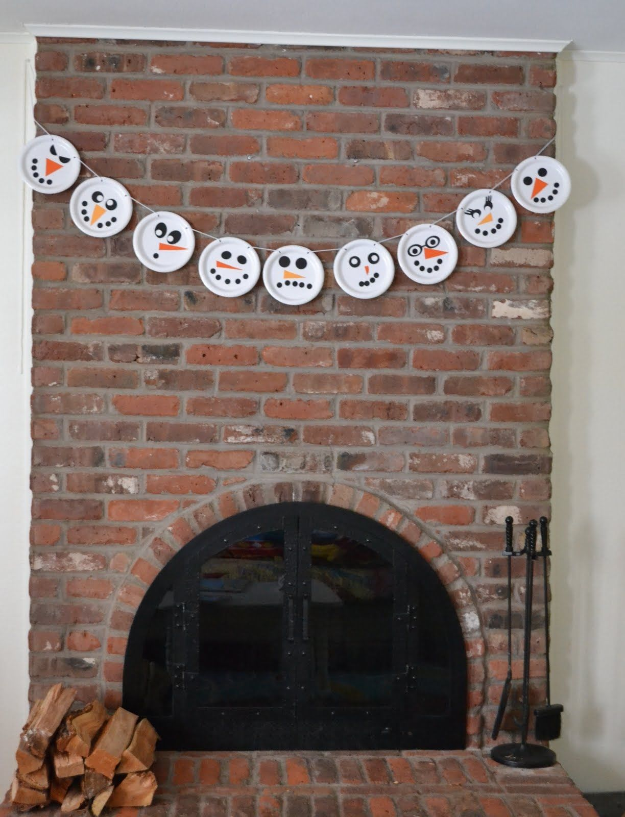 Diy paper plate snowman garland pictures photos and images for diy paper plate snowman garland jeuxipadfo Gallery