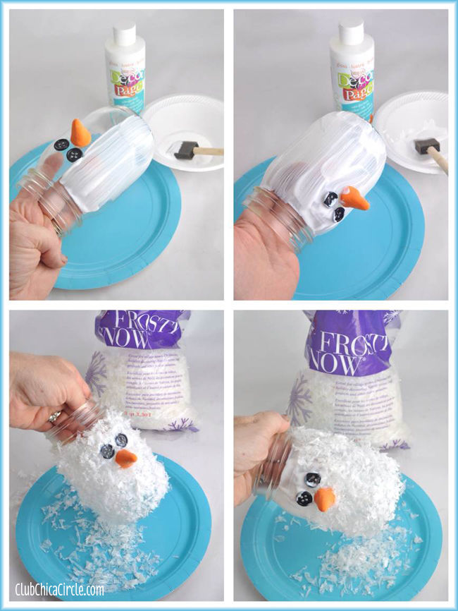 Snowman Mason Jar Craft Pictures Photos And Images For Facebook Tumblr Pinterest And Twitter