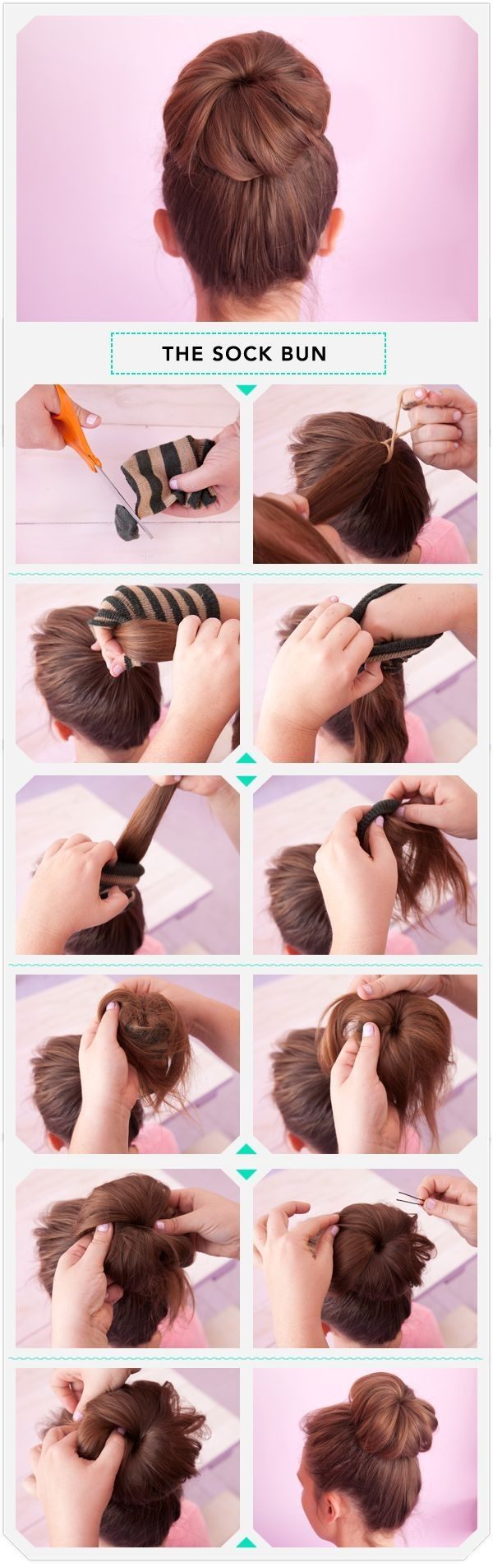 Как сделать дулю на голове