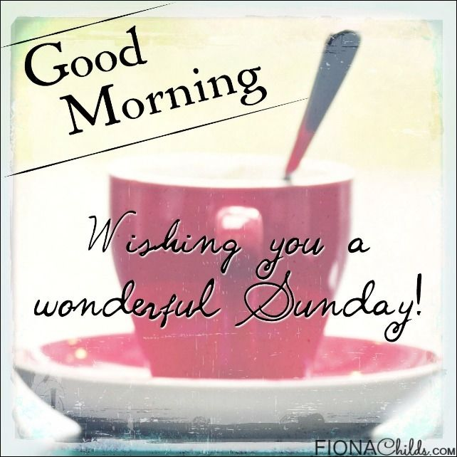 Good Morning Happy Sunday Free Download : Good morning sunday pictures photos and images for