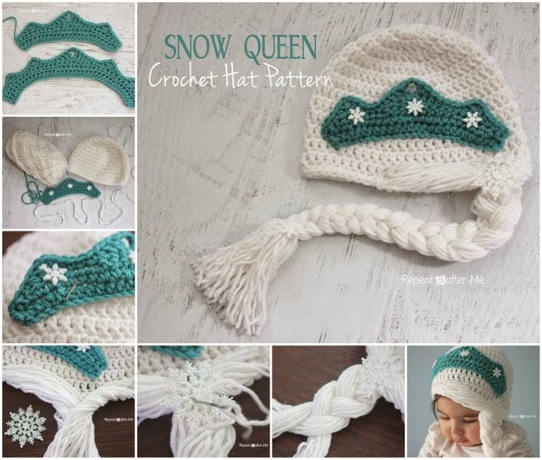 Facebook Crochet Patterns : How To Crochet A Snow Hat Pictures, Photos, and Images for Facebook ...