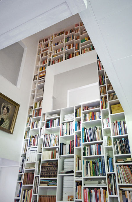 Beautiful book shelves pictures photos and images for - Bookshelf design on wall ...