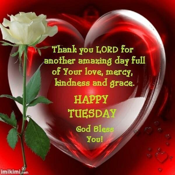 Happy Tuesday God Bless You Pictures, Photos, and Images for