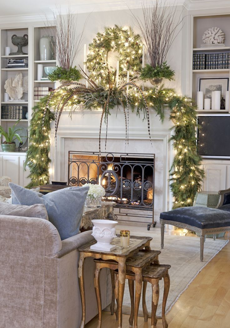 Christmas Living Room Decor Pictures, Photos, and Images ...