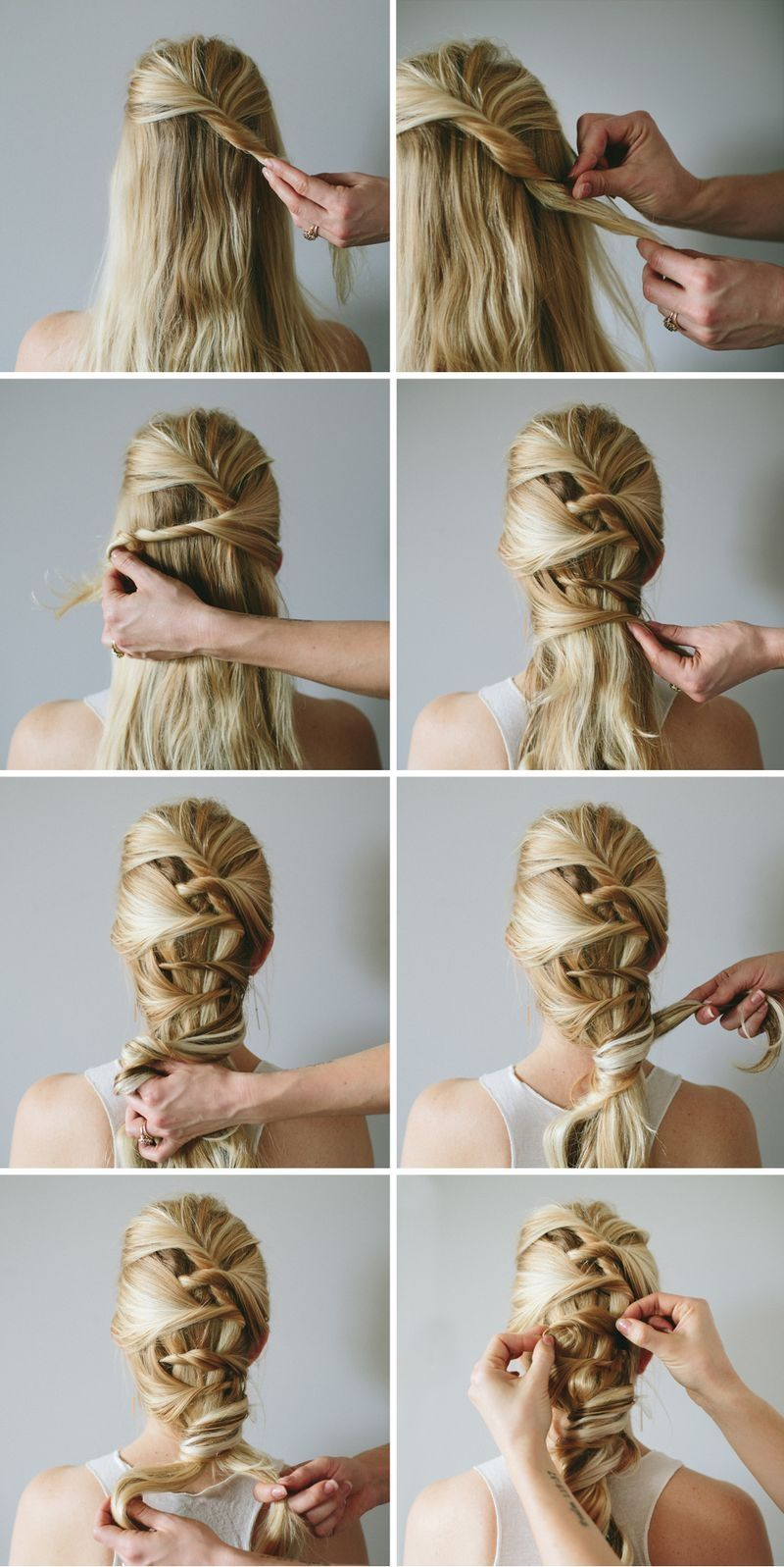 Fashion week Braids Hairstyles tumblr step by step pictures for woman