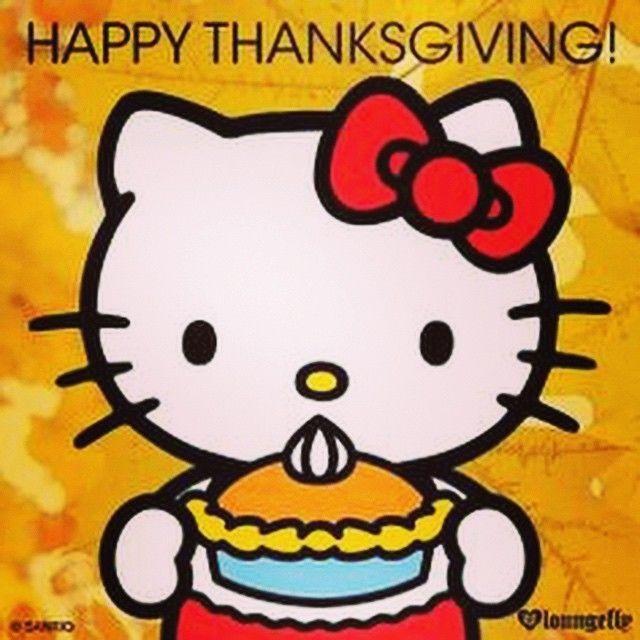 Happy Thanksgiving Hello Kitty