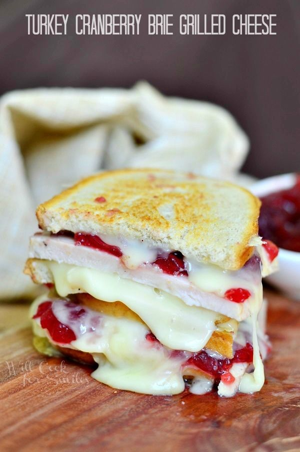 Turkey Cranberry Grilled Cheese Pictures, Photos, and Images for ...