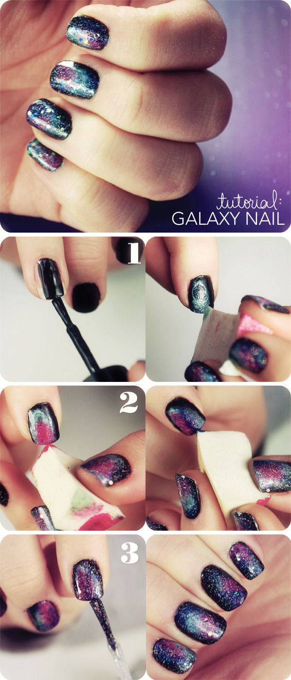 DIY Galaxy Nails Pictures, Photos, and Images for Facebook, Tumblr ...