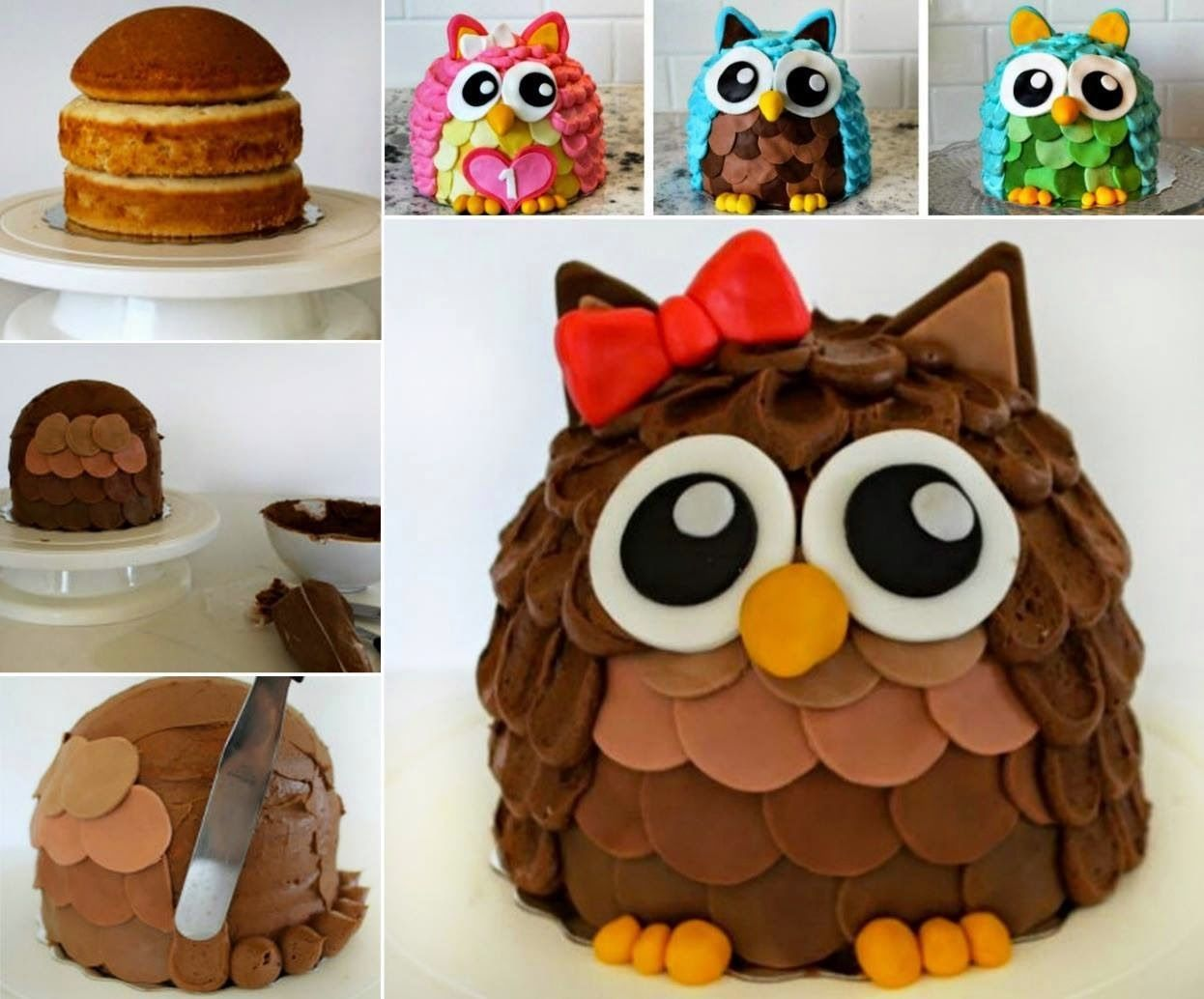 How To Make An Owl Cake Pictures Photos and Images for Facebook