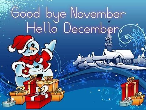 Goodbye November Hello December Pictures, Photos, and Images for Facebook, Tu...