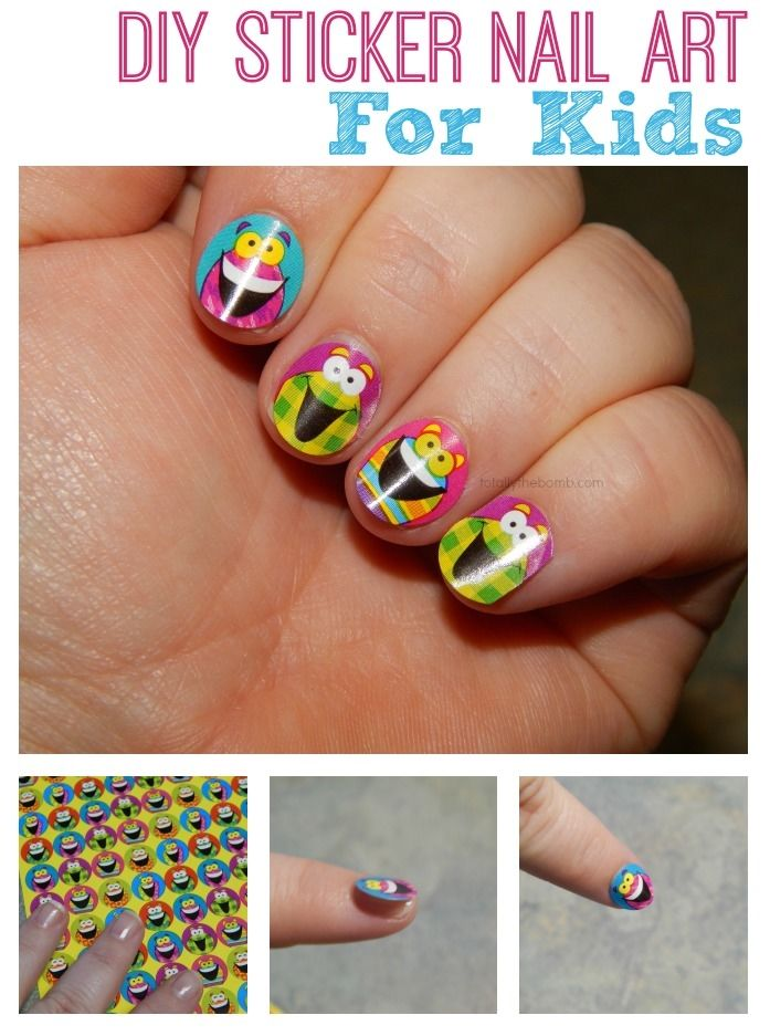 How to make sticker nail art pictures photos and images for how to make sticker nail art prinsesfo Images