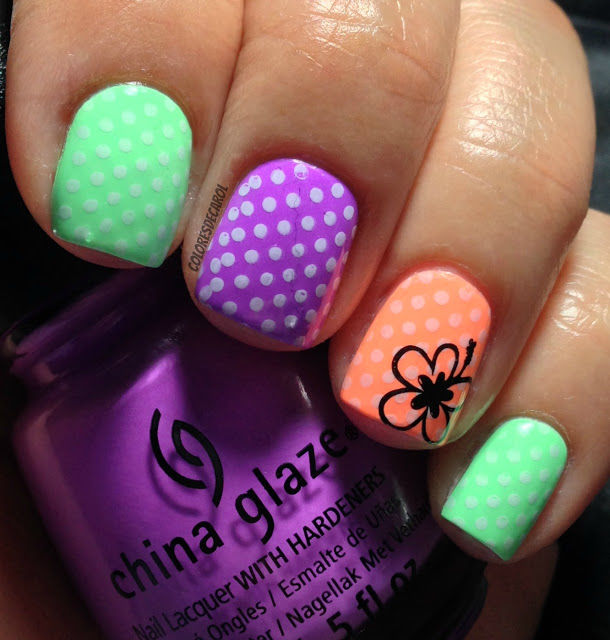 How To Make China Glaze Neon Nails Pictures Photos And