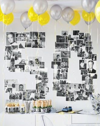 Picture Collage Birthday Decorations Pictures Photos and Images