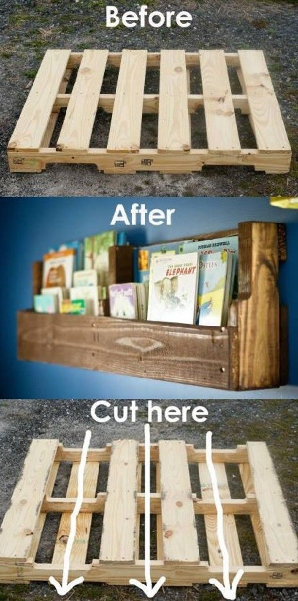 Diy Pallet Shelves Pictures Photos And Images For