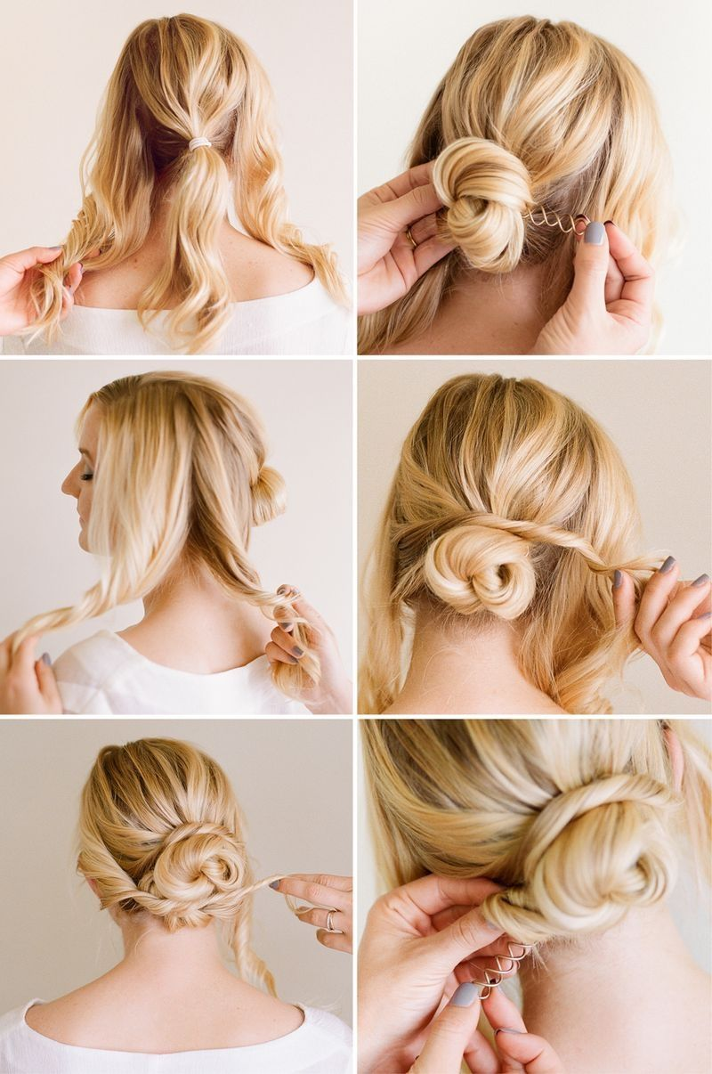 DIY Easy Updo Pictures Photos And Images For Facebook Tumblr - Hairstyle diy tumblr