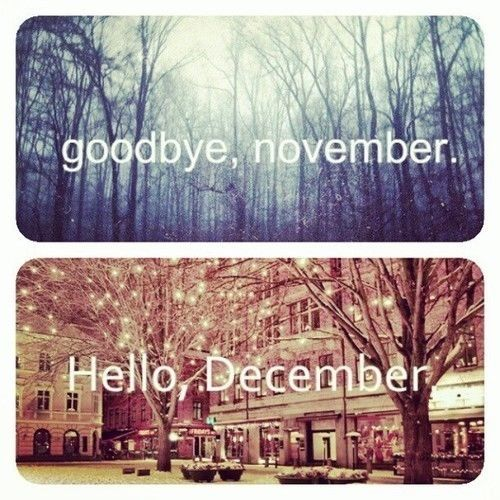 Goodbye, November.. Hello December Pictures, Photos, and Images for Facebook,...