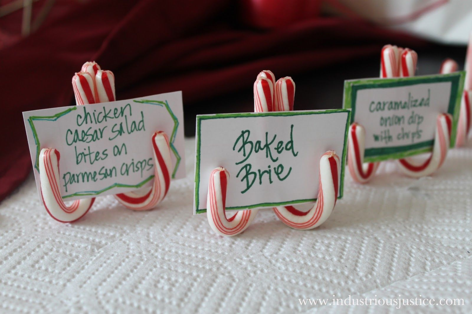 Candy Cane Name Holders Pictures, Photos, and Images for ...