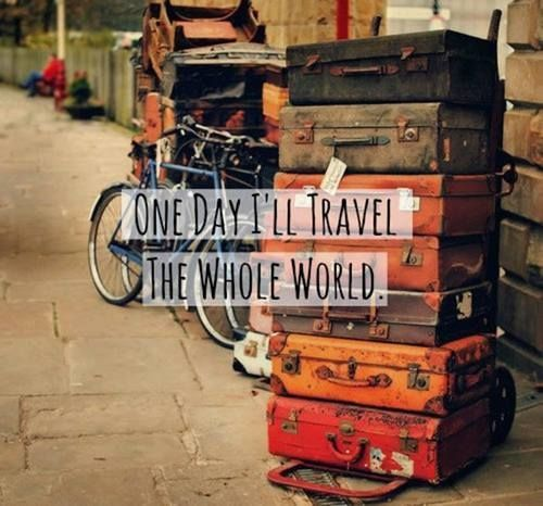 Travel The World Quotes Tumblr: One Day I'll Travel The World Pictures, Photos, And Images
