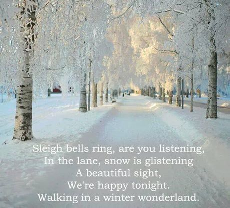 Walking In A Winter Wonderland Pictures, Photos, and Images for