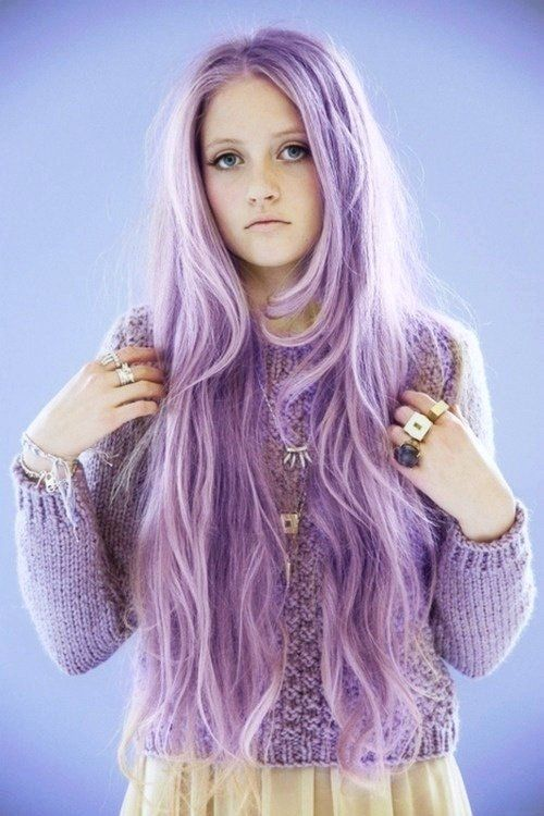Girls With Light Purple Hair Tumblr Lavender Light ...