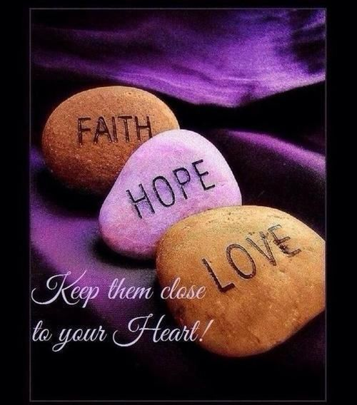 Faith hope love pictures photos and images for - Faith love hope pictures ...