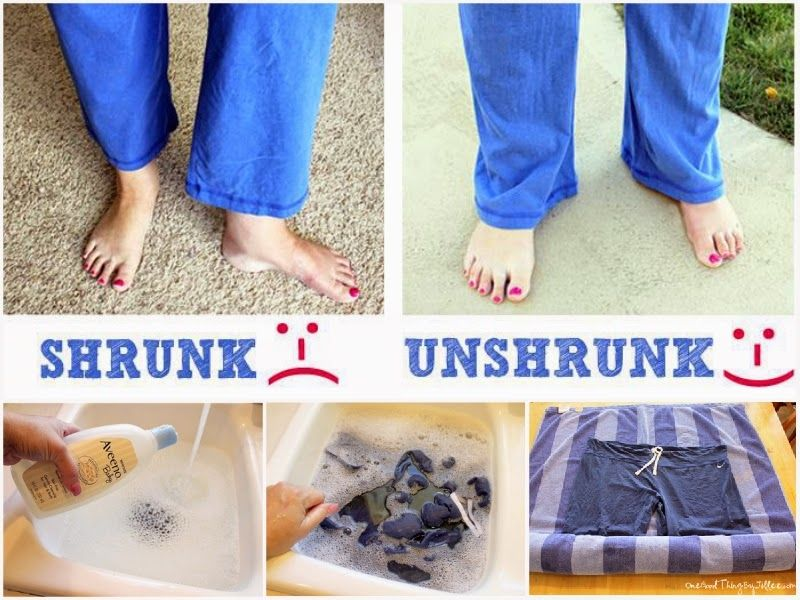 Diy unshrink clothes ideas pictures photos and images for facebook