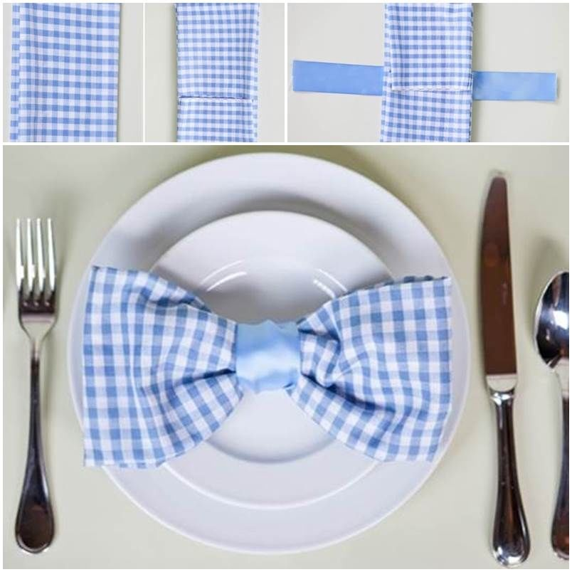 how to make a napkin bow tie pictures photos and images