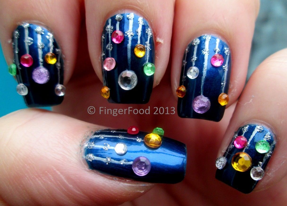 Christmas Light Nails Pictures, Photos, and Images for Facebook ...