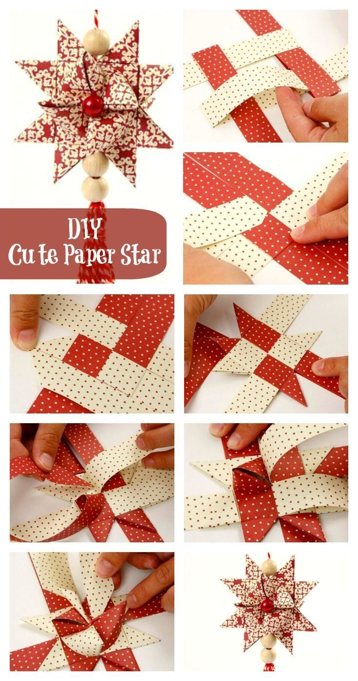 Diy christmas star crafts : Diy cute christmas star pictures photos and images for
