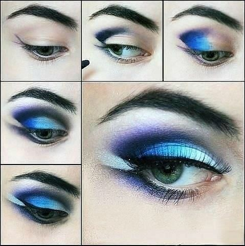 blue eye makeup pictures photos and images for facebook