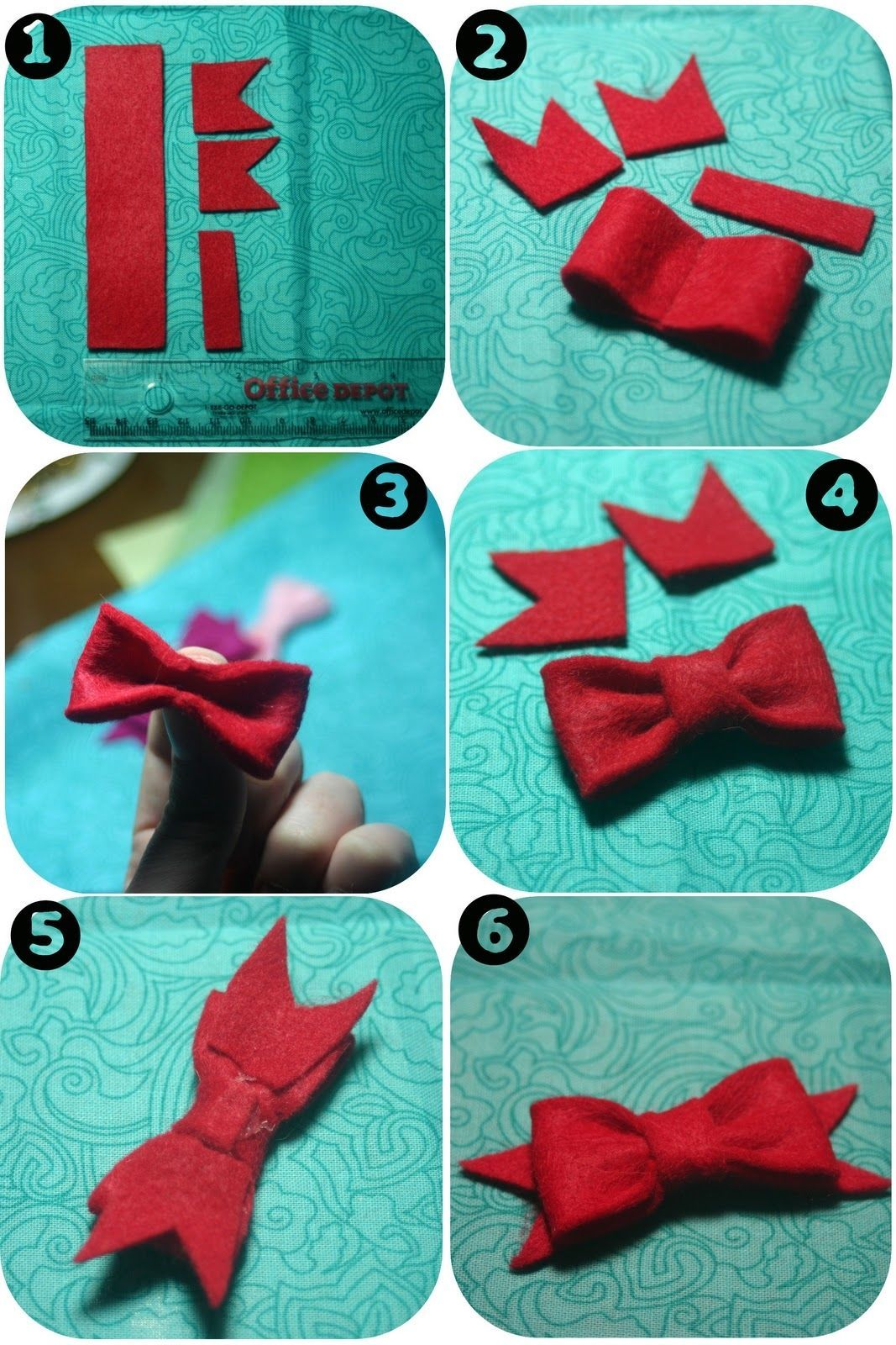 how to make the perfect bow