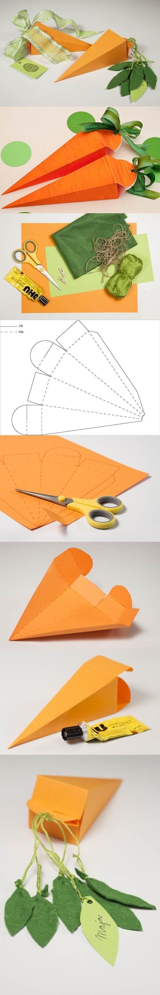 How To Make A Carrot Gift Box Pictures, Photos, and Images ...