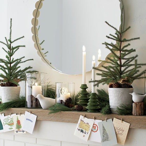 Decorations For A Halloween Party: Natural Christmas Decorations For Mantle Pictures, Photos