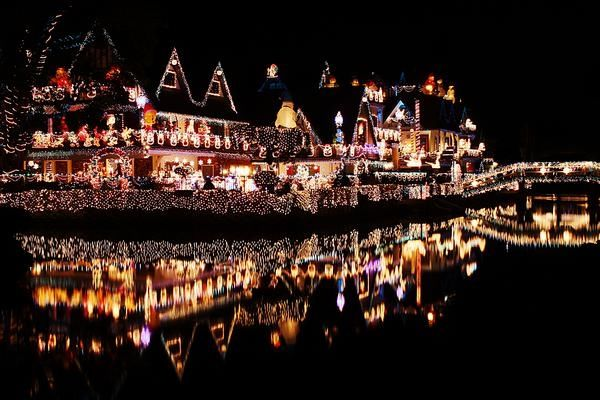Reflective Christmas Lights Pictures, Photos, and Images for ...