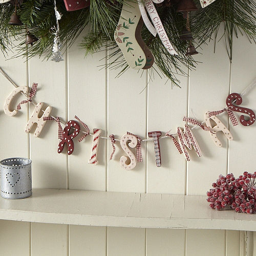 Diy Wooden Letter Garland Pictures Photos And Images For Facebook