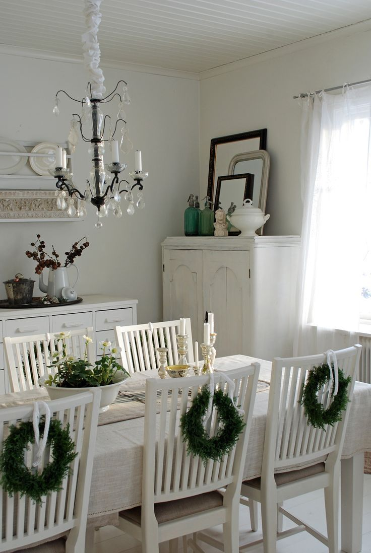 Christmas Dining Room old fashion christmas dining room pictures, photos, and images for