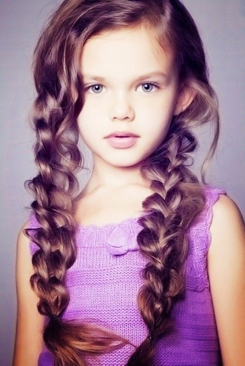 Pleasing Summer Hairstyle For A Little Girl Braids Pictures Photos And Hairstyles For Men Maxibearus