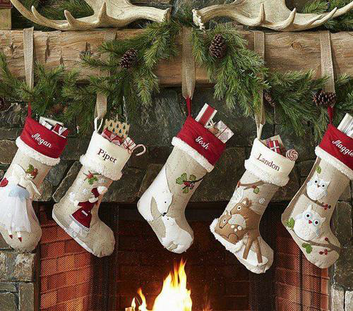 Hanging christmas stockings pictures photos and images