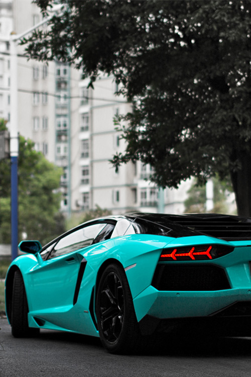 Aqua Blue Lambo Pictures Photos And Images For Facebook