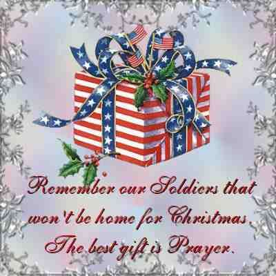 Remember Our Soldiers That Won't Be Home For Christmas! Pictures ...